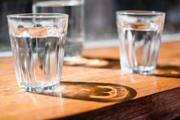 Água potável e perda de peso