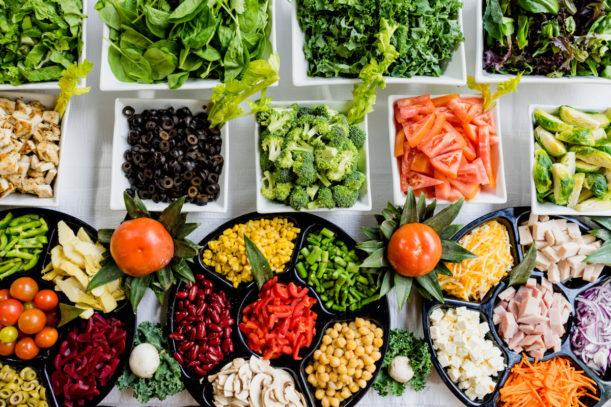 Comida colorida - Melhores alimentos